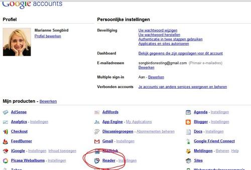 Google Applications Dashboard