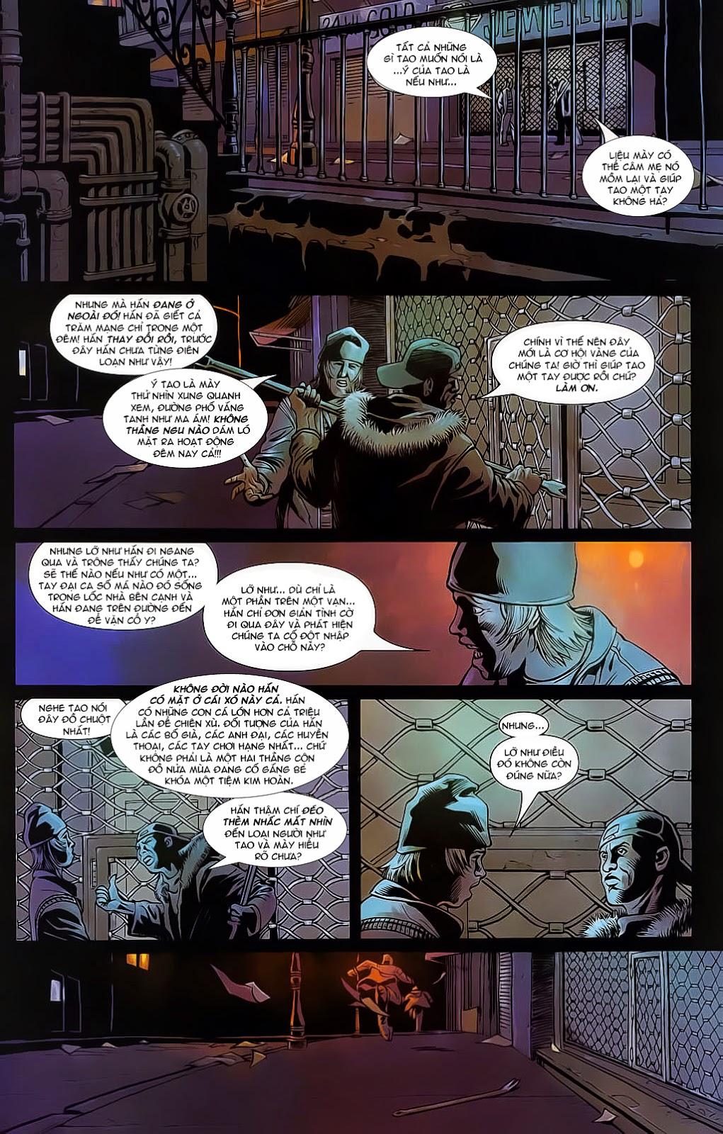 The Punisher: Trên là Dưới & Trắng là Đen chap 4 - Trang 4
