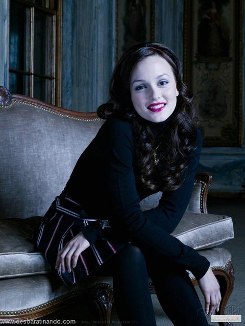 Leighton meester blair gossip girl garota do blog linda sensual desbaratinando  (254)