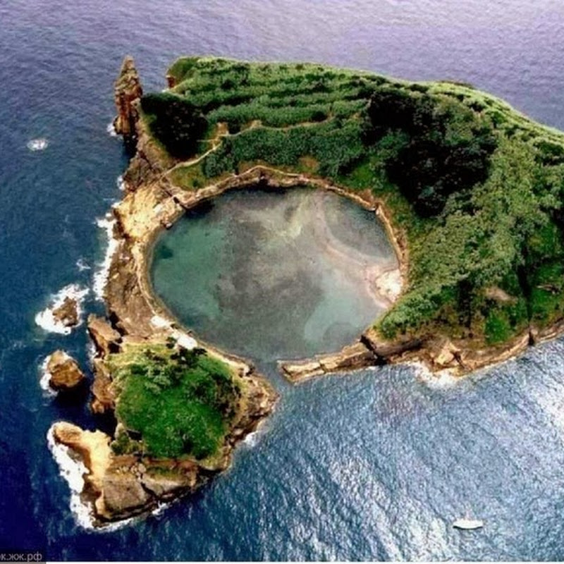 The Islet of Vila Franca do Campo
