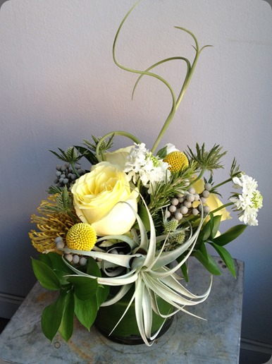 Sullivan-Owen-Floral-Design-Philadelphia-Airplant-Yellow-Rose