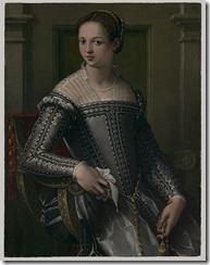 1550s_ Portrait of a Woman_ unknown Florentine painter, poss