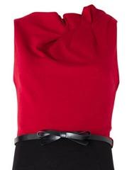 Drape detailing dress2