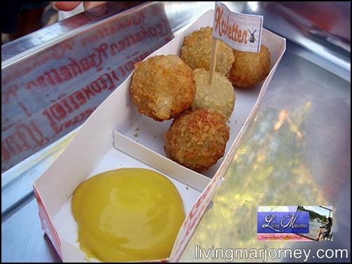 Kroketten 5 pcs Miniballen