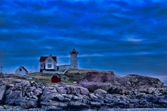 - Nubble lightD7K_1939 January 07, 2012 NIKON D7000