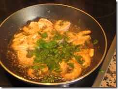 Gambas al ajillo, gamberetti all'aglio