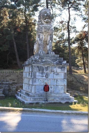 Lion monument of Amphipolis