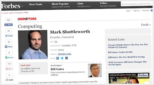 Mark Shuttleworth - Forbes