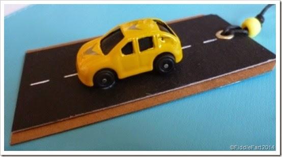 car gift tag