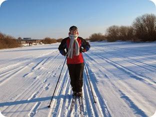 лыжи 024