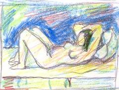 Nud desen de Cojocaru