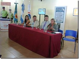 Autoridades del Ministerio de Justicia y Seguridad de la provincia de Buenos Aires se reunieron con autoridades y jefes policiales de la región