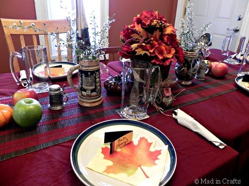 Oktoberfest Tablescape