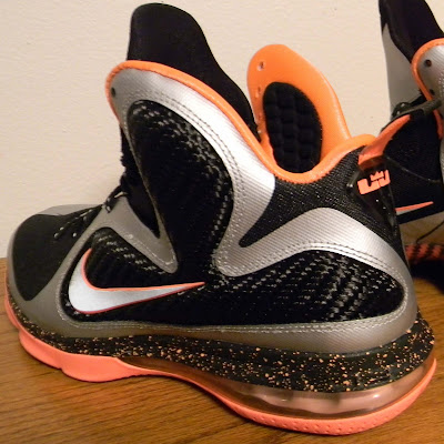 nike lebron 9 gr silver black orange 2 08 New Pics: Upcoming Nike LeBron 9 Mango Slated for March 2nd