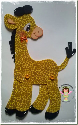 Aplique Girafa 40