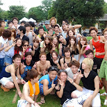 group photo of the BBQ neighbors in Tokyo, Tokyo, Japan
