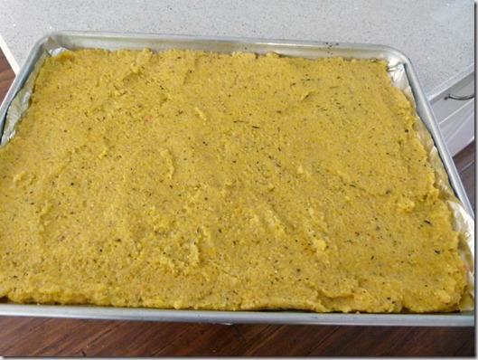 polenta crust