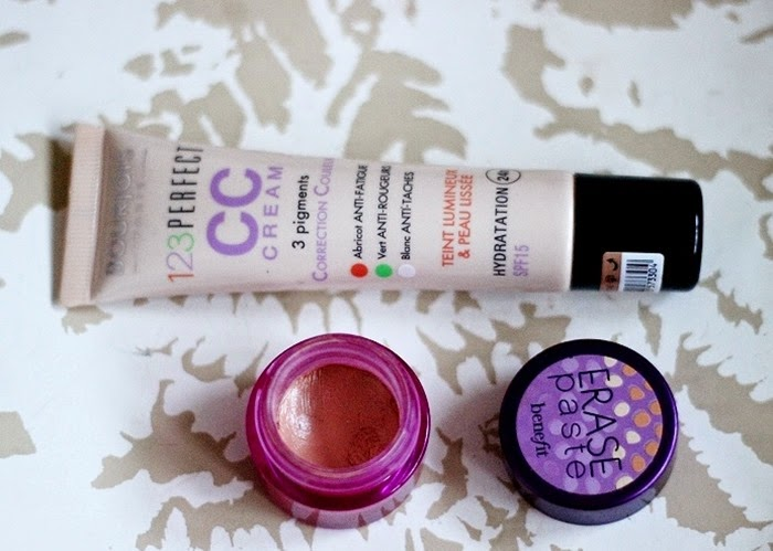 bourjois cc cream 33 benefit erase paste 3