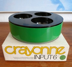 green Crayonne Input 6 container with box