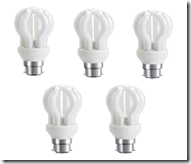 Snapdeal: Buy Valka Vasu 5 Watt CFL Pack Of 5 at Rs.102