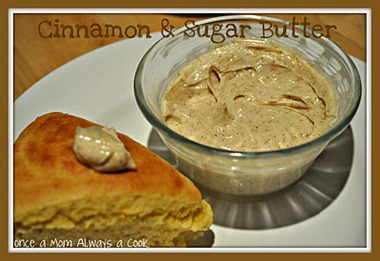 Cinnamon & Sugar Butter