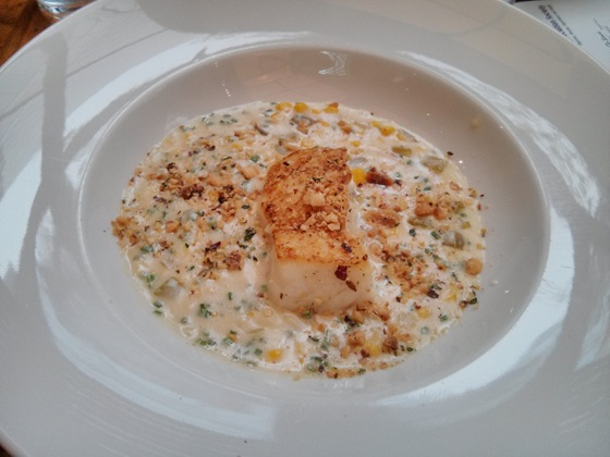 Halibut Corn Chowder