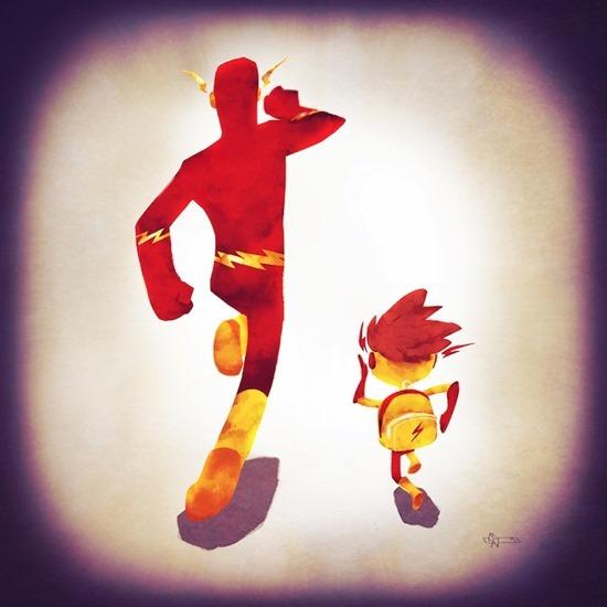Super heróis em família 03
