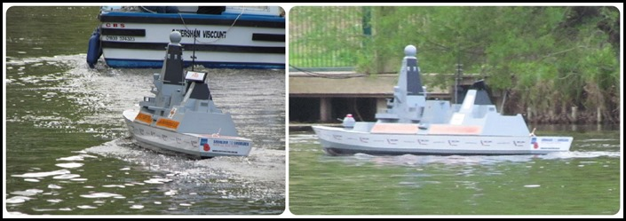 E destroyer on Thames