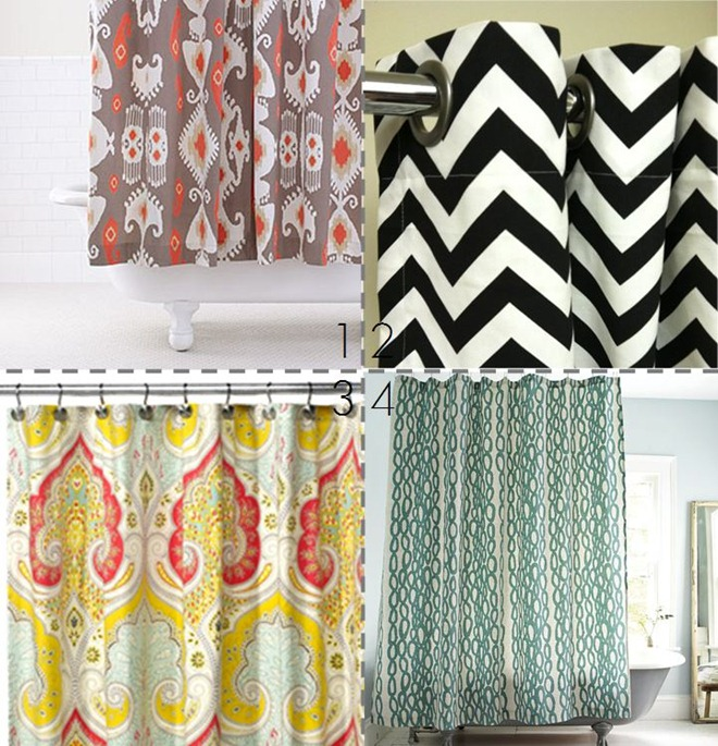 Imagine Design HOUZZ Beautiful Shower Curtains