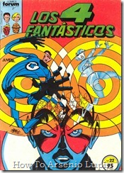 P00022 - Los 4 Fantsticos v1 #22