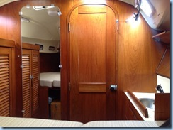 V Berth from bow