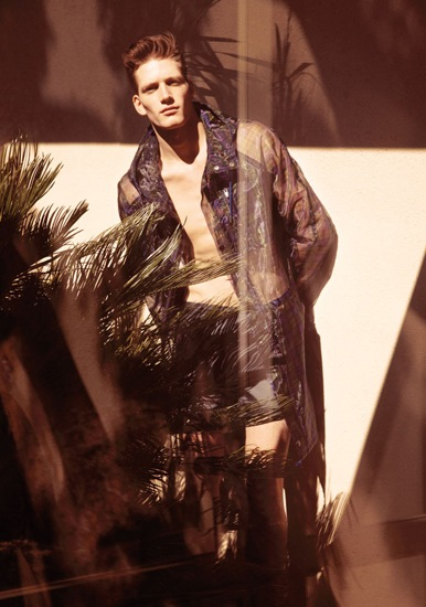 Florian Van Bael @ Ford Models Europe/Major byt Carlotta Manaigo for TETU, March 2012.  Styled by Nicolas Klam.