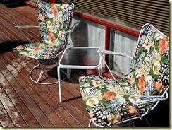 let's lounge on the deck