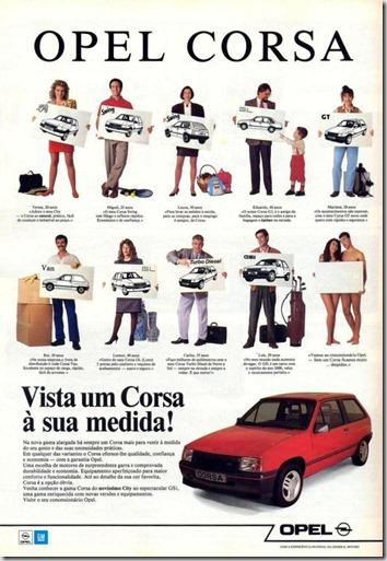 Automóveis Opel Corsa