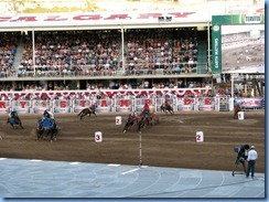 9565 Alberta Calgary Stampede 100th Anniversary - GMC Rangeland Derby & Grandstand Show - Chuckwagon Races
