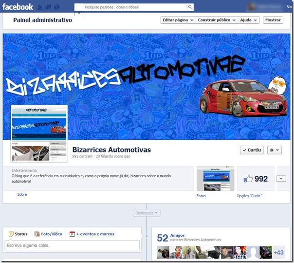 facebook bizarrices automotivas