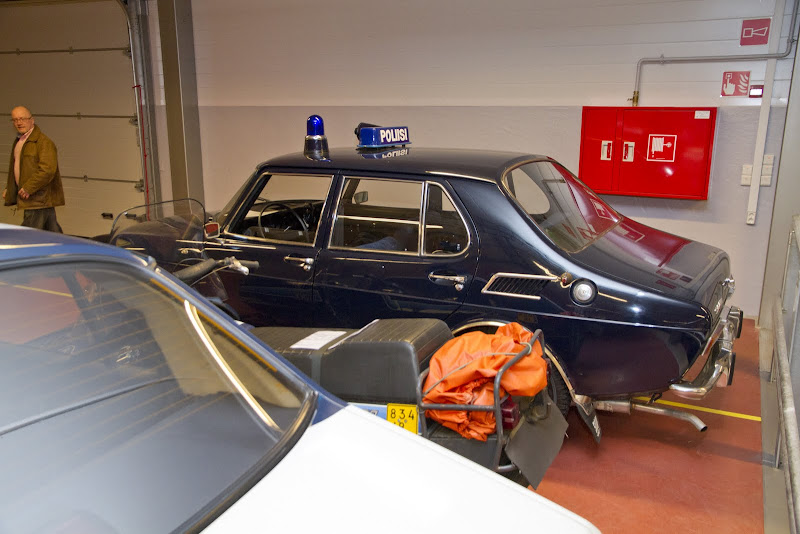 1968 Saab 99 Police Car, 4-door, Finland