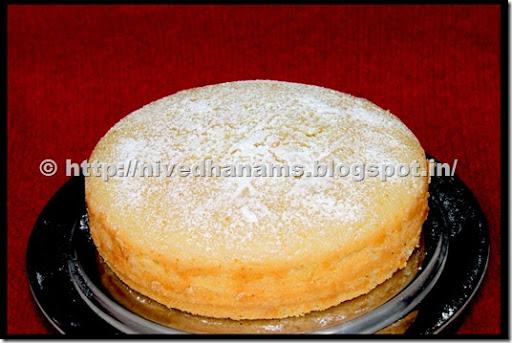 Eggless cake recipe with corn flour