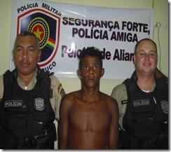 EQUIPE DE POLICIAIS MILITARES - CB PM - FIRMINO E SD PM - SOTTOMAIOR