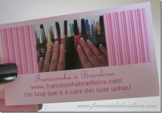 Cartão Francesinha à Brasileira