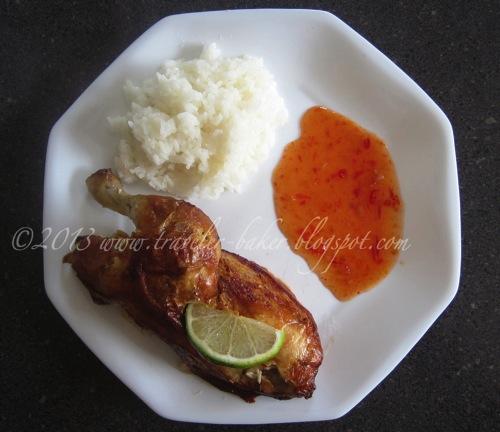 Thai Chicken  Rice with Sweet Chilli Sauce 3