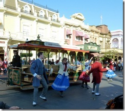 Song and Dance parade at Magic Kingdom