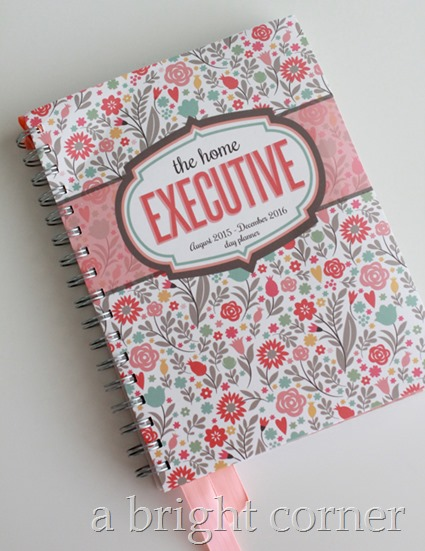 Home Executive Day Planner