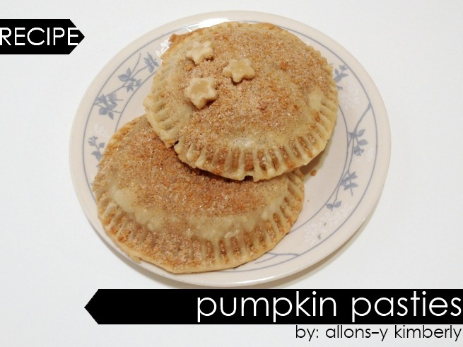 Harry Potter Inspired Pumpkin Pasties Recipe | allonsykimberly.com