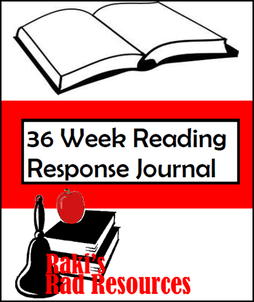 Resources to keep students reading books they enjoy while keeping them accountable for their learning.  Resources from Raki's Rad Resources - reading response journal