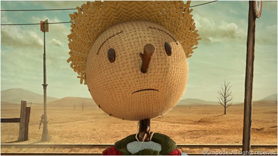 CLICK to visit THE SCARECROW GAME site from Chipotle.