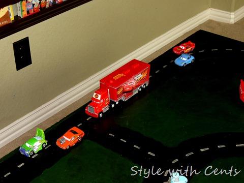 disney cars hot wheels race track 7