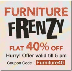 Buy Furnitures online upto 68% off + 40% more off at Fabfurnish offers