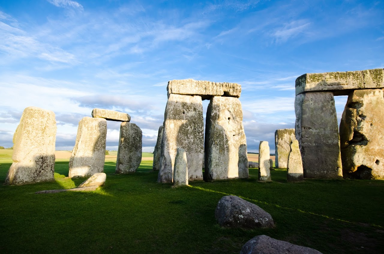 Inside of Stonehenge