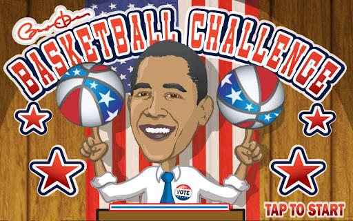 Obama's Basketball Challenge